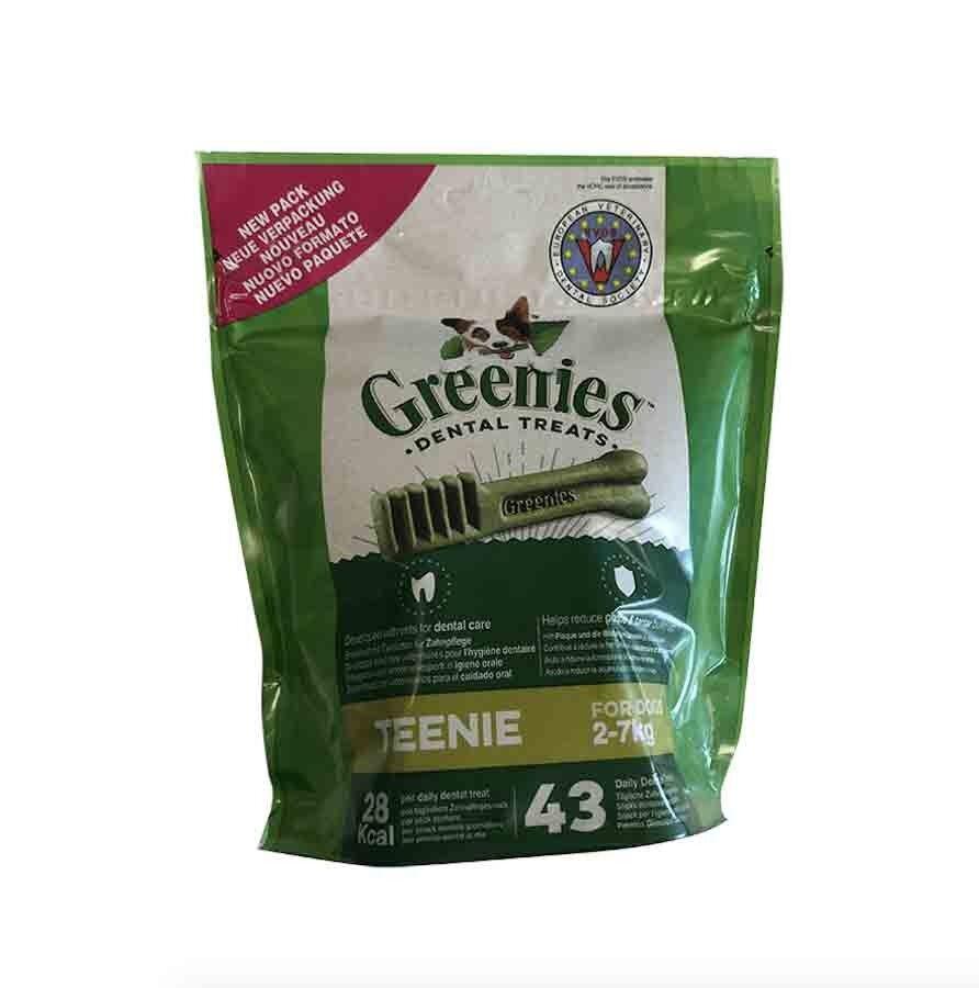 Greenies Teenie 43 os chien de 2 à 7 kg