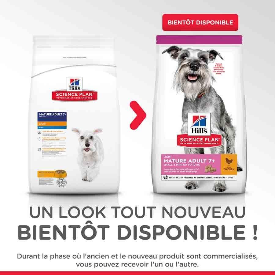 Hill's Science Plan Canine Mature Adult 7+ Mini Light 2.5 kg