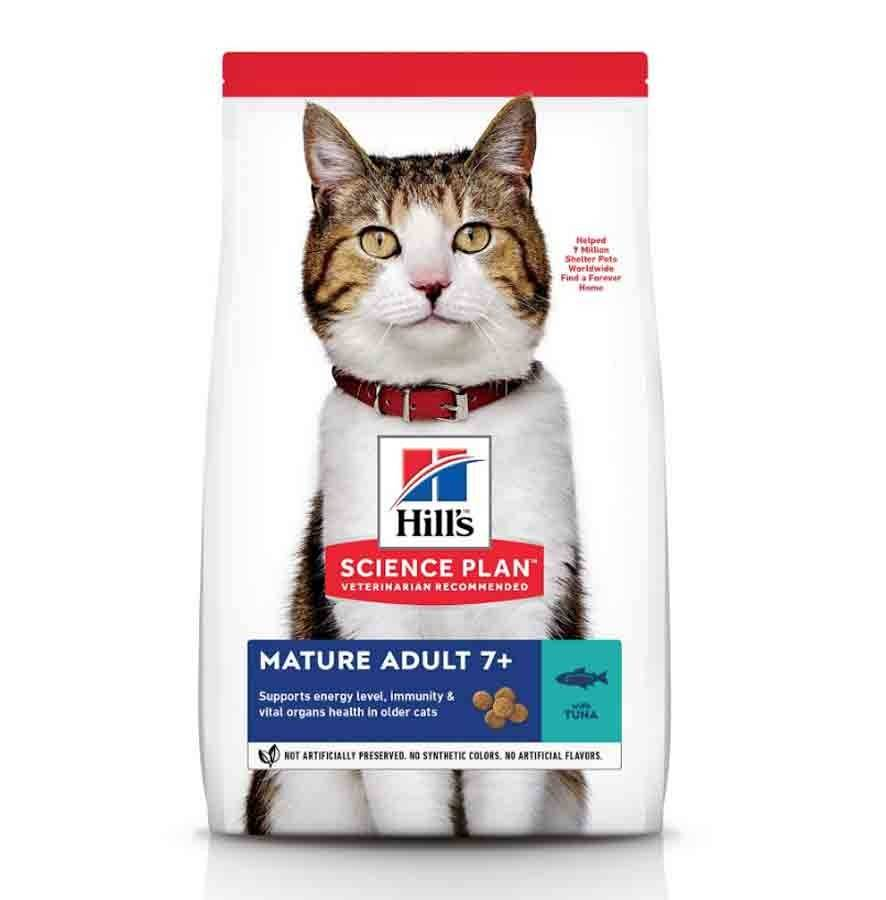 Hill's Science Plan Feline Mature Adult 7+ Thon 1,5 kg