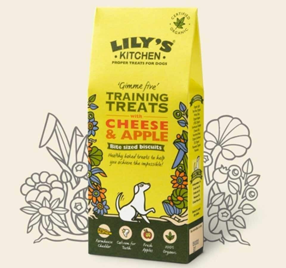 Lily's Kitchen Friandises à la Pomme et au Fromage Chien 100 g