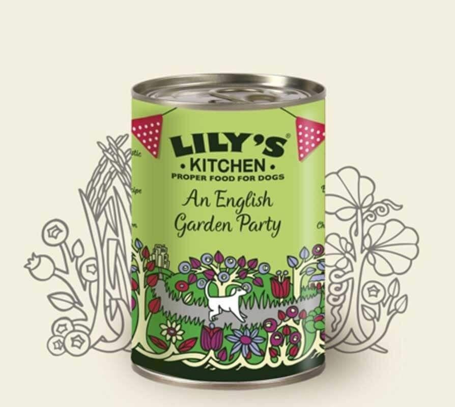 Lily's Kitchen Garden Party pour Chien 6 x 400 g