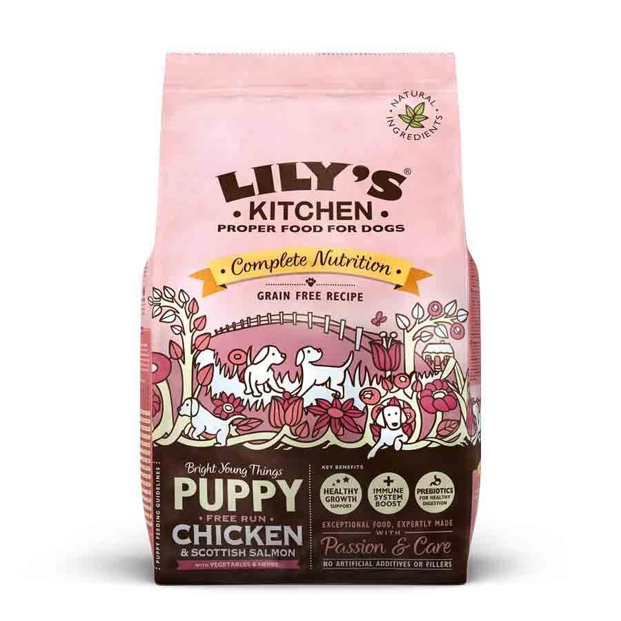 Lily's Kitchen Puppy Croquettes au Poulet et saumon d'Ecosse 2,5 kg
