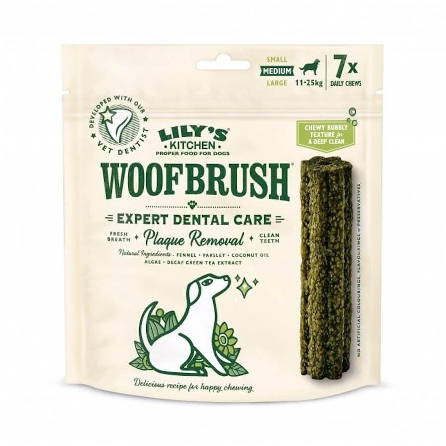 Lily's Kitchen Woofbrush Baton Dentaire chien moyen x 7