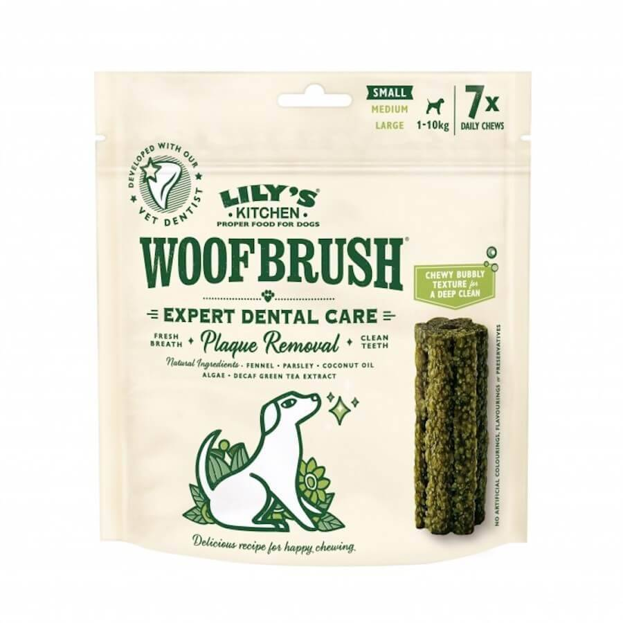 Lily's Kitchen Woofbrush Baton Dentaire petit chien x 7