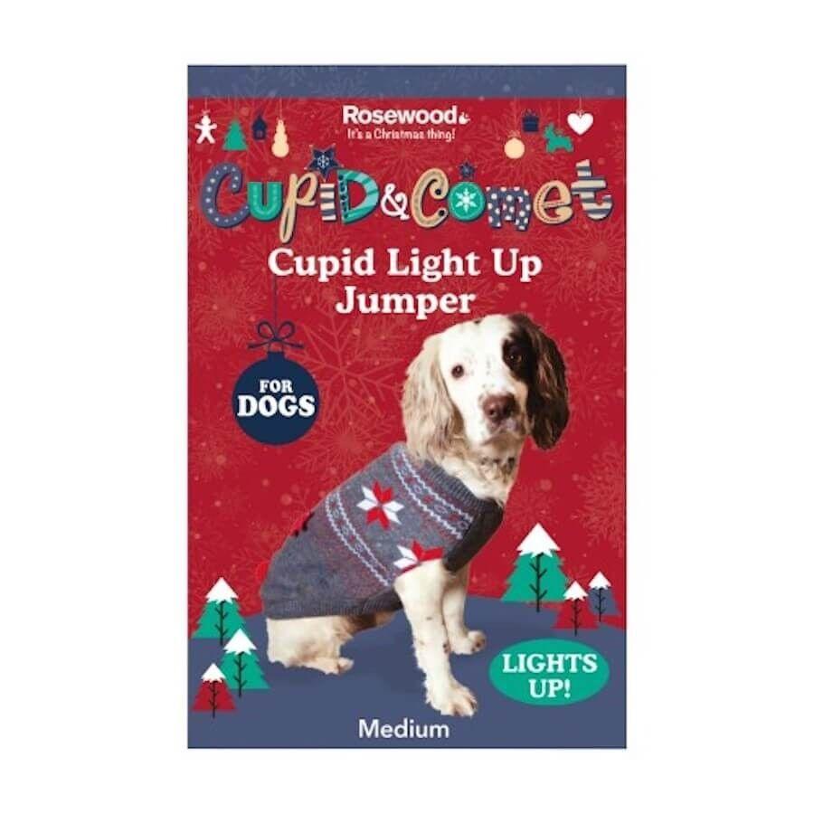 Rosewood Cupid & Comet Pull de Noël L
