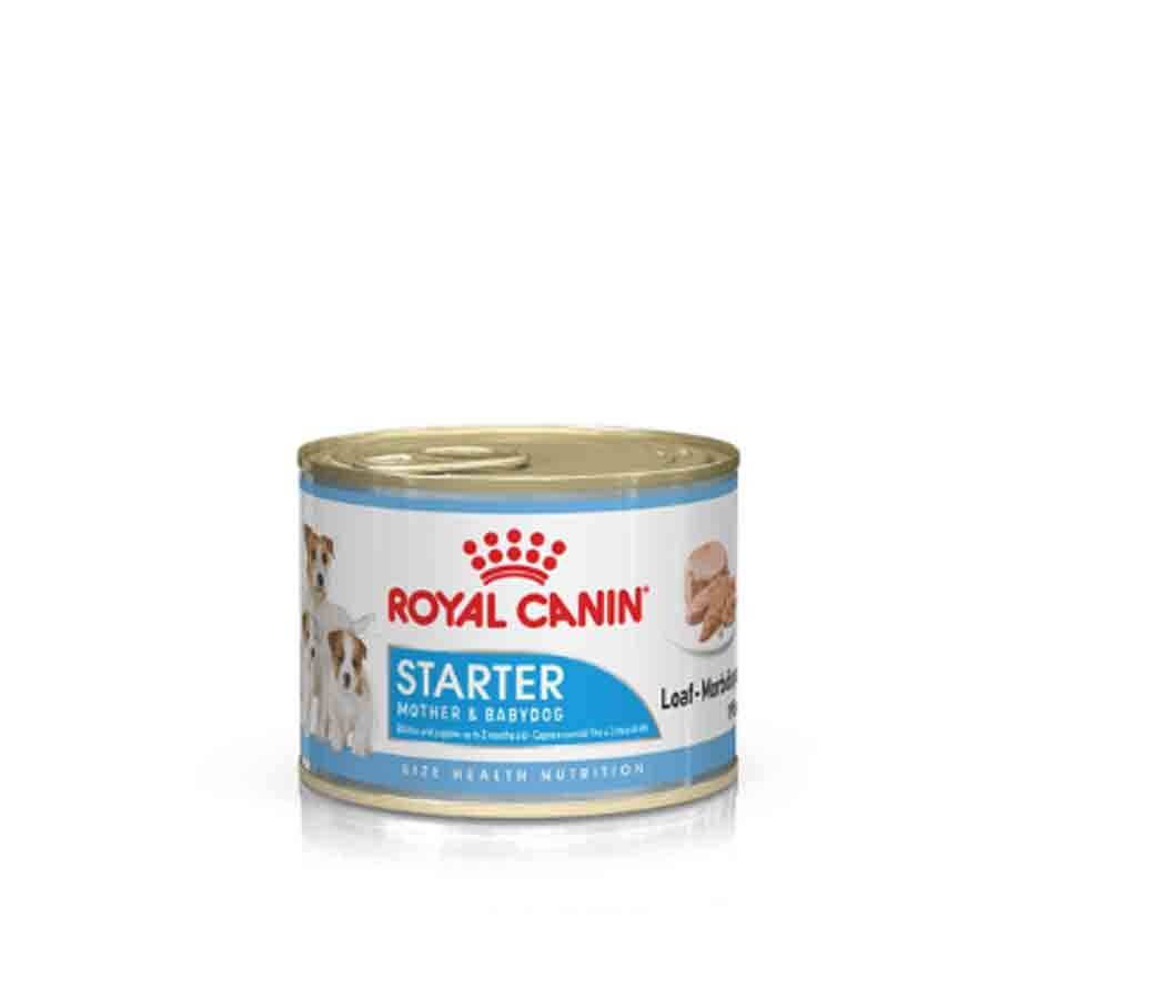 Royal Canin Size Health Nutrition Starter Mother & Babydog mousse 12 x 195 g