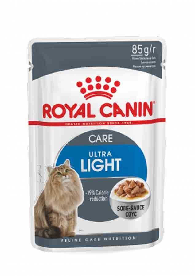 Royal Canin Feline Care Nutrition Royal Canin Féline Care Nutrition Ultralight sauce 12 x 85 g