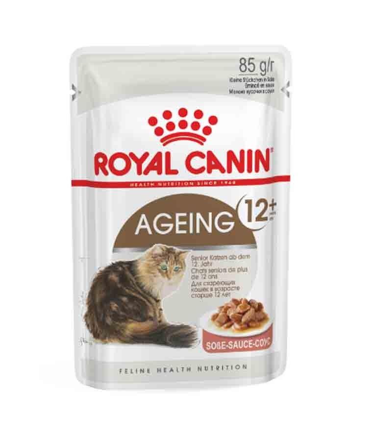 Royal Canin Feline Health Nutrition Ageing +12 en sauce 12 x 85 g