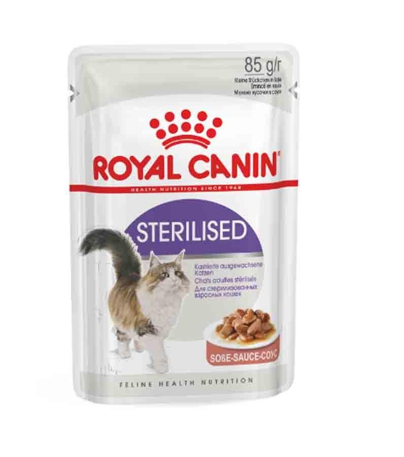 Royal Canin Feline Health Nutrition Sterilised sauce 12 x 85 g