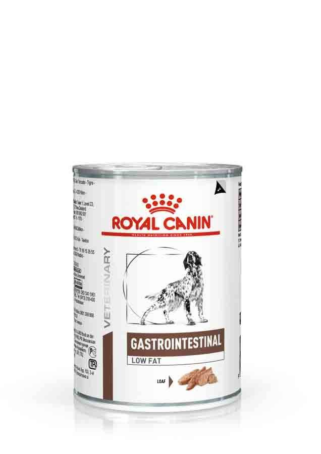 Royal Canin Veterinary Diet Royal Canin Veterinary Dog Gastrointestinal Low Fat 12 x 410 grs