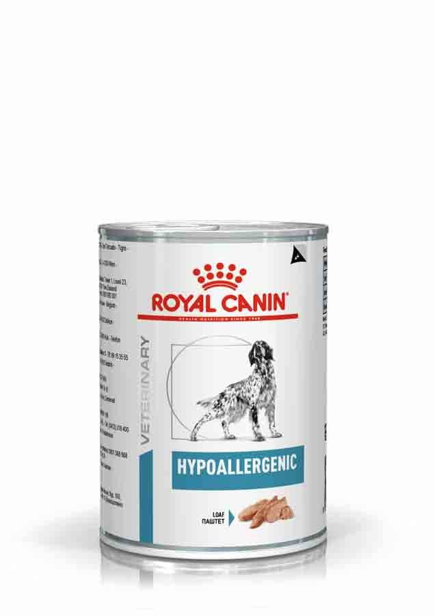 Royal Canin Veterinary Diet Royal Canin Veterinary Dog Hypoallergenic 12 x 400 grs