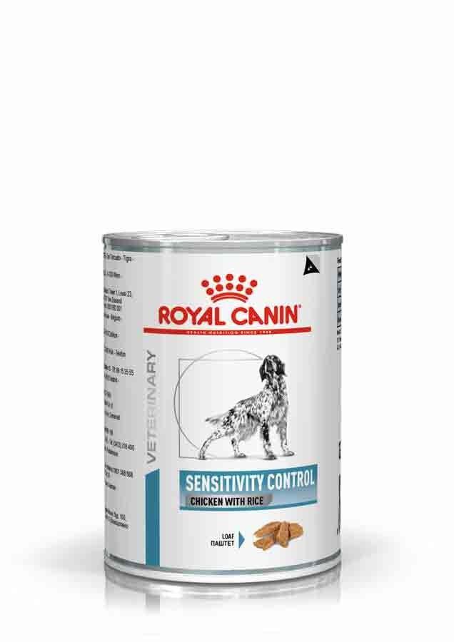 Royal Canin Veterinary Diet Royal Canin Veterinary Dog Sensitivity Control Poulet 12 x 420 grs