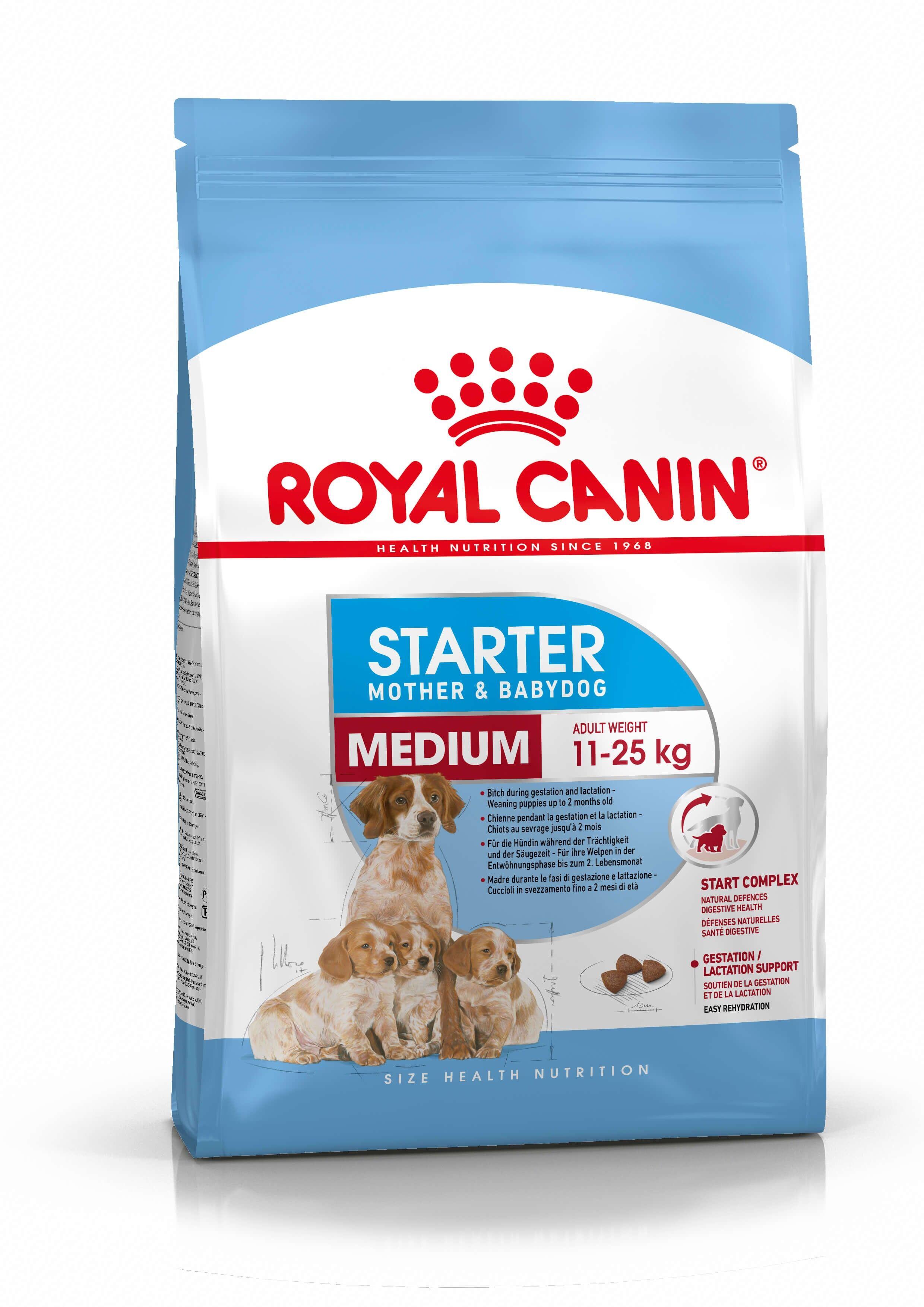 Royal Canin Size Health Nutrition Royal Canin Medium Starter Mother and Babydog 12 kg
