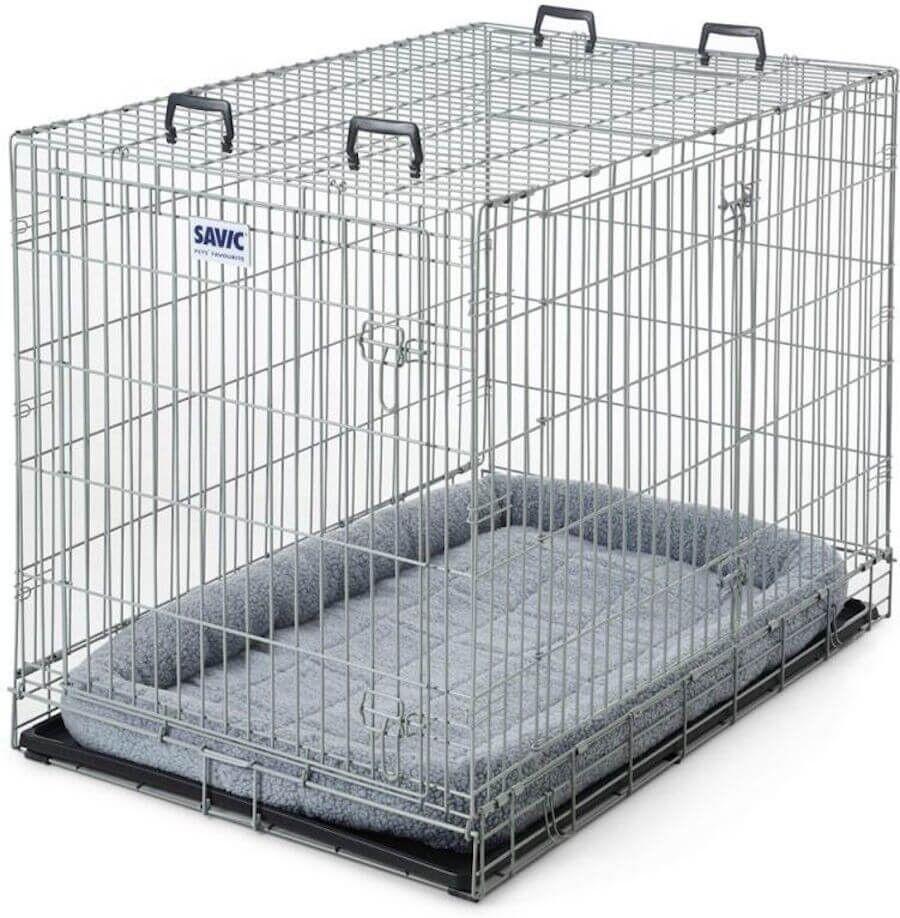 Savic Cage Pliable Dog Résidence métal classique 76 x 118 x 82 cm
