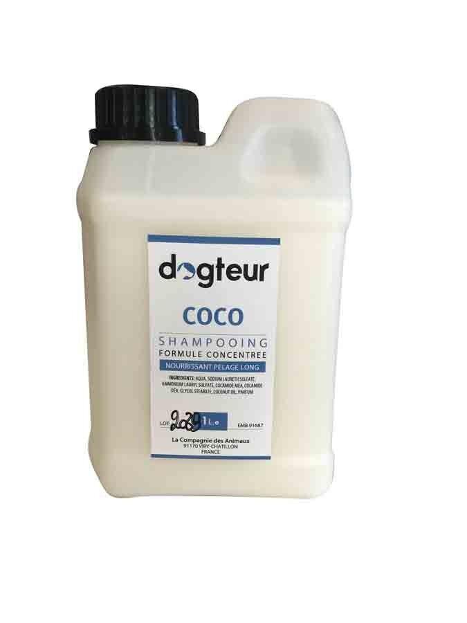 Dogteur Shampooing PRO Dogteur Huile de Coco 1 L