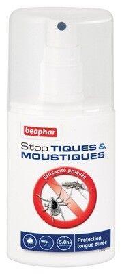 Beaphar Stop Tiques & Moustiques Spray Anti-tiques et Moustiques pour chien