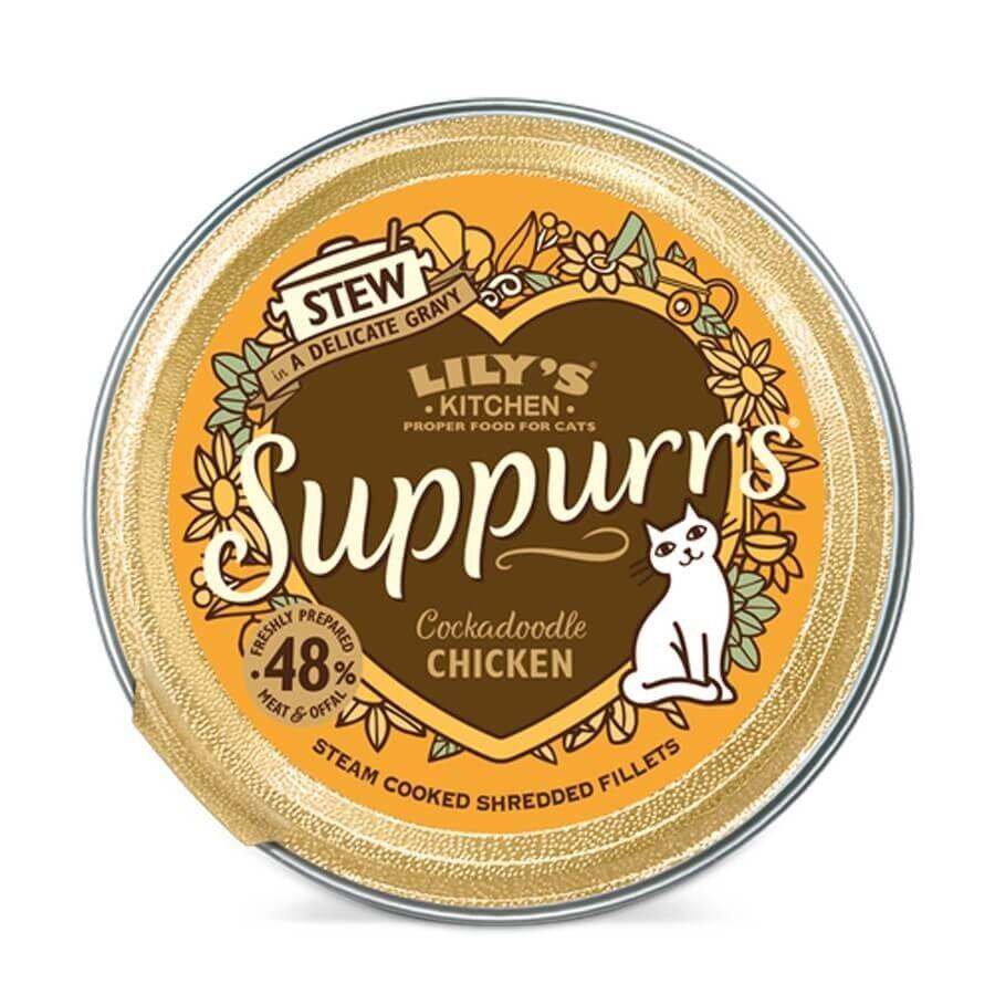 Lily's Kitchen Suppurrs au Poulet Chat 9 x 85 g