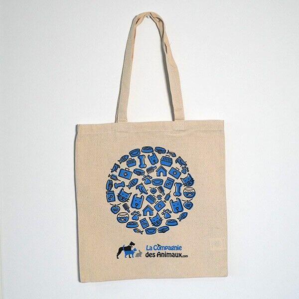 La Compagnie des Animaux Tote Bag La Compagnie des Animaux 38 x 42 cm