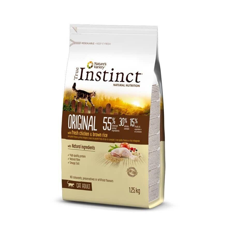True Instinct Original au poulet chat 1,25 kg