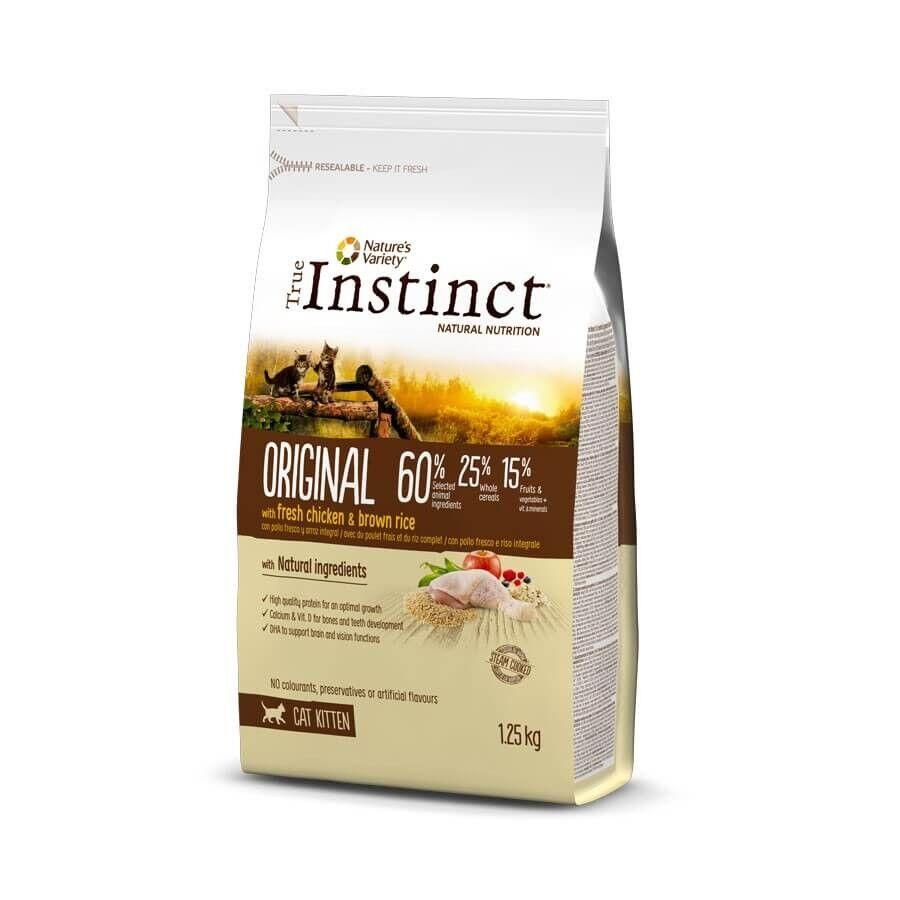 True Instinct Original au poulet chaton 1,25 kg