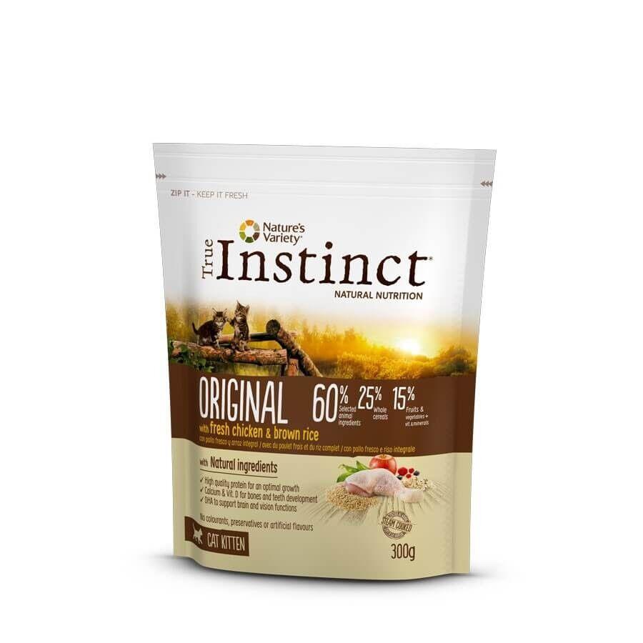 True Instinct Original au poulet chaton 300 g