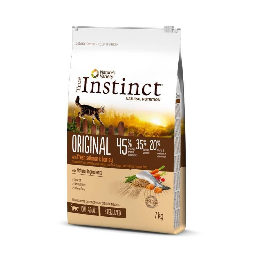 True Instinct Original au saumon chat stérilisé 7 kg