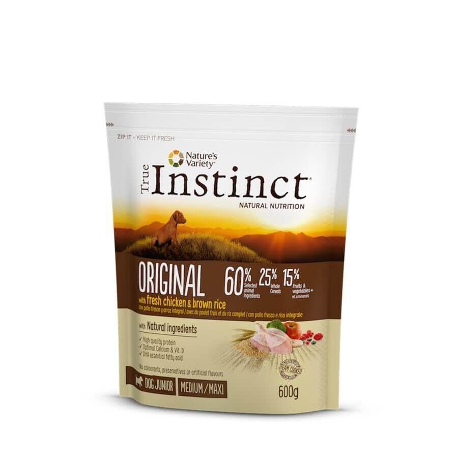 True Instinct Original Medium Maxi Junior Poulet 600 g