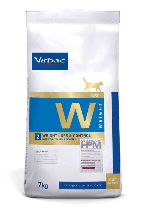Virbac Veterinary HPM Weight Loss & Control chat 7 kg