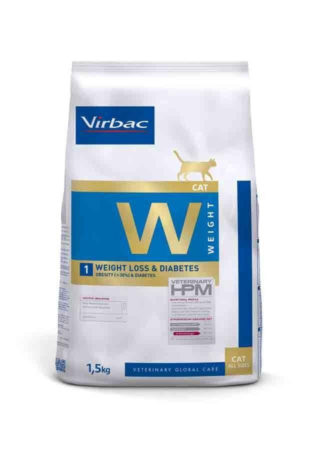 Virbac Veterinary HPM Weight Loss & Diabetes chat 1.5 kg