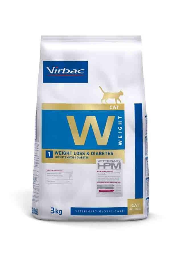 Virbac Veterinary HPM Weight Loss & Diabetes chat 3 kg
