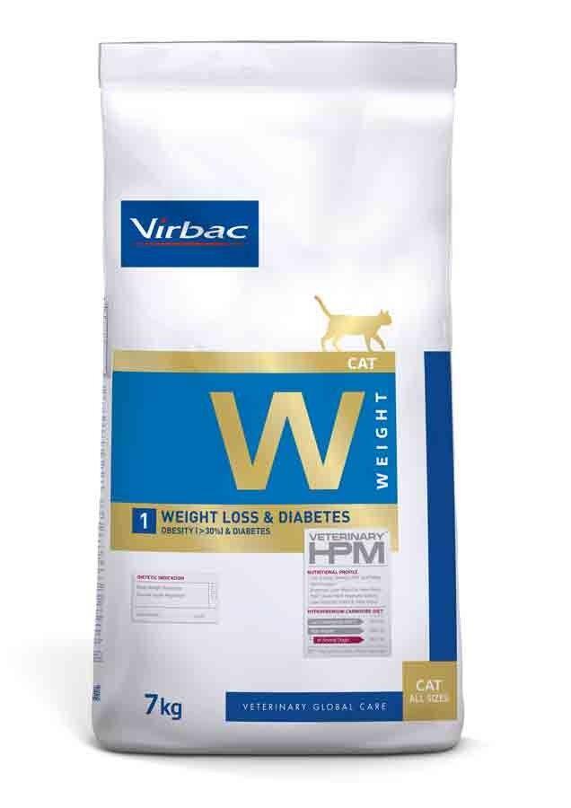 Virbac Veterinary HPM Weight Loss & Diabetes chat 7 kg