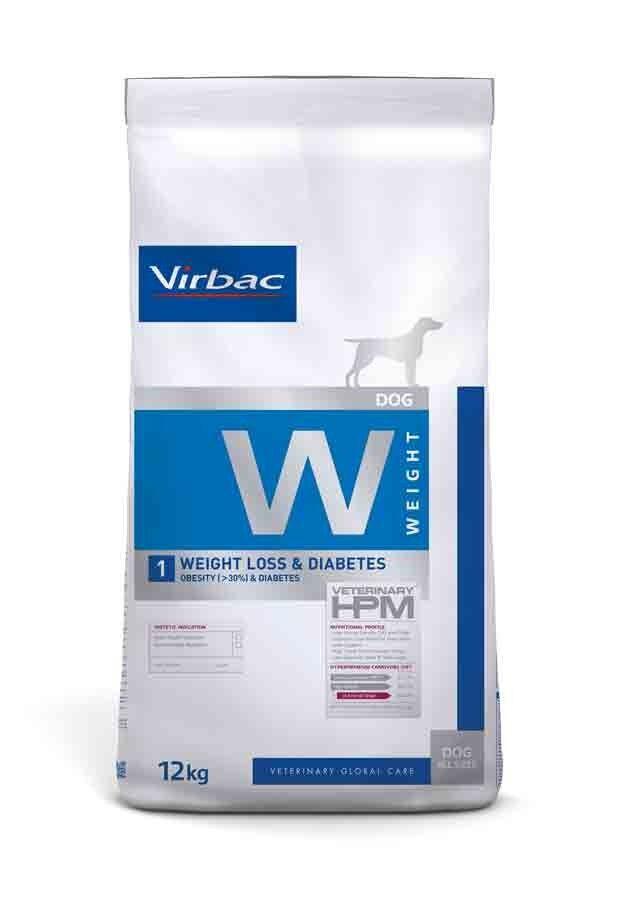 Virbac Veterinary HPM Weight Loss & Diabetes Chien 12 kg
