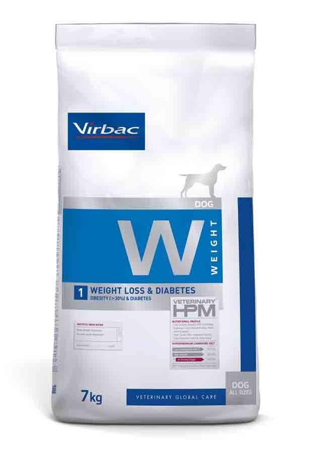 Virbac Veterinary HPM Weight Loss & Diabetes Chien 7 kg