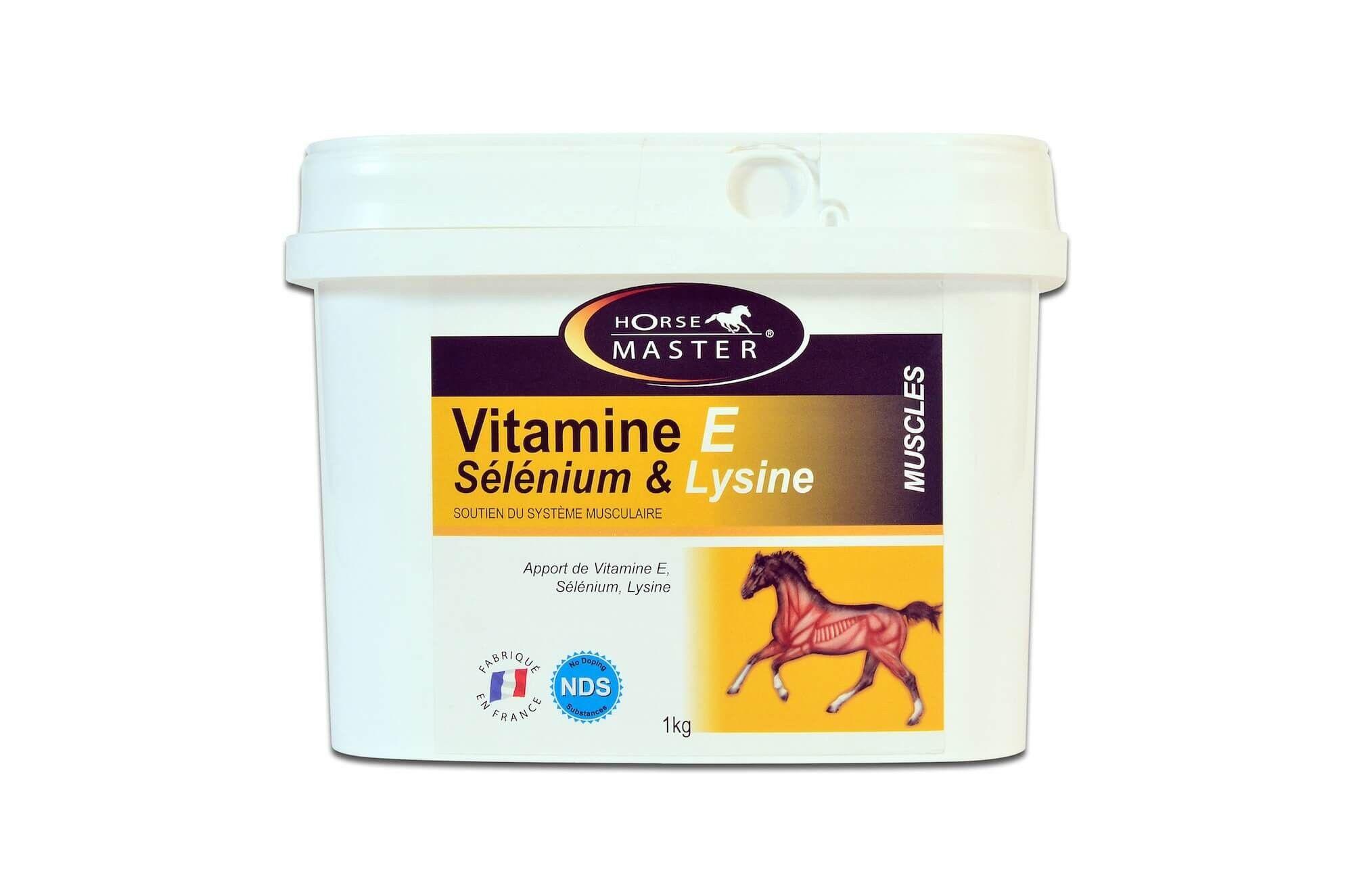 Horse Master Vitamine E - Sélénium & Lysine - Poudre 1 kg