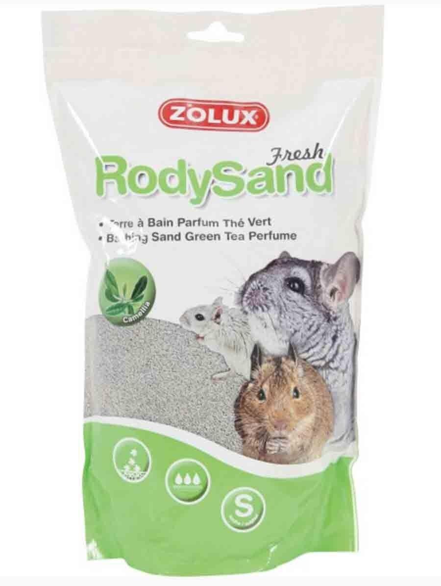 RodySand Zolux Terre à bain rodysand thé vert 2 L