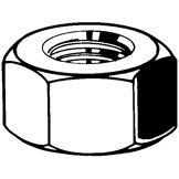 Fabory Écrou hexagonal MEF DIN 934 Acier de décolletage Brut  6  M26X1,50 (≠DIN)