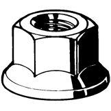 Fabory Écrous hexagonaux à embase, autofreinés, tout métal MBN 13023 Acier flZnnc 720h-L 10 M12X1,50