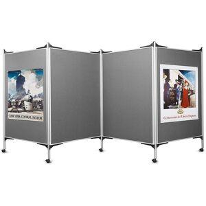 magnetoplan® Kit tableau de présentation mobile - 4 tableaux pour - Publicité