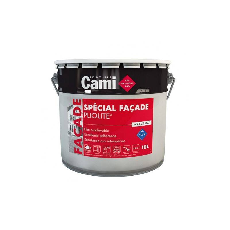 CAMI FACADE PLIOLITE TON PIERRE 10L - Peinture spéciale pour façade à