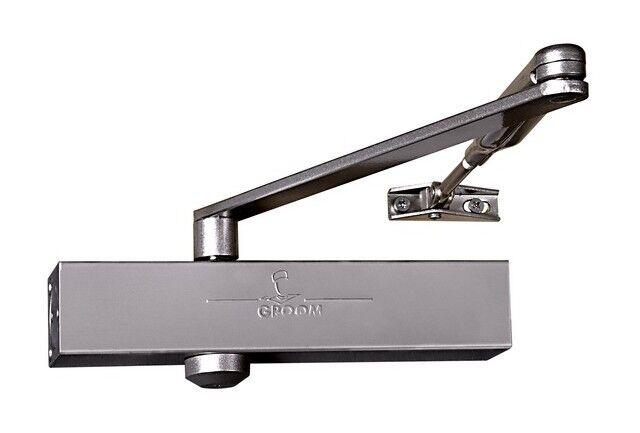 GROOM Ferme-porte GR150 bras standard argent force 2/4 - GROOM - 150111