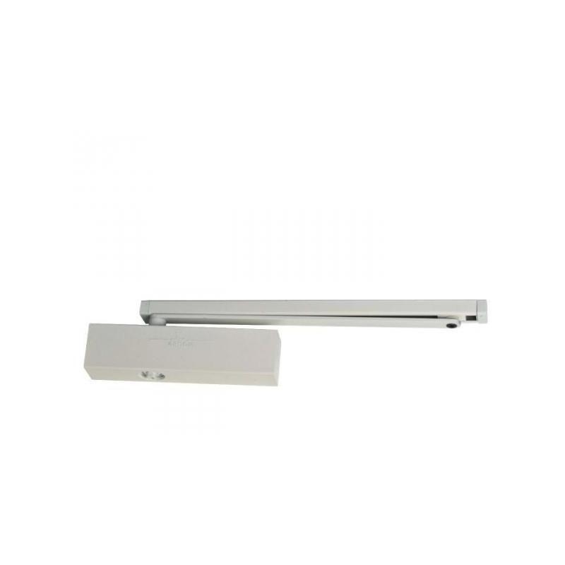 GROOM Ferme-porte GR500 Force 3 à 5 - bras anti-vandalisme - blanc - GR500517