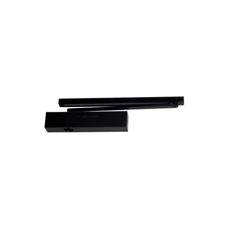 GROOM Ferme-porte GR500 GROOM - Force 3 à 5 - bras anti-vandalisme - noir
