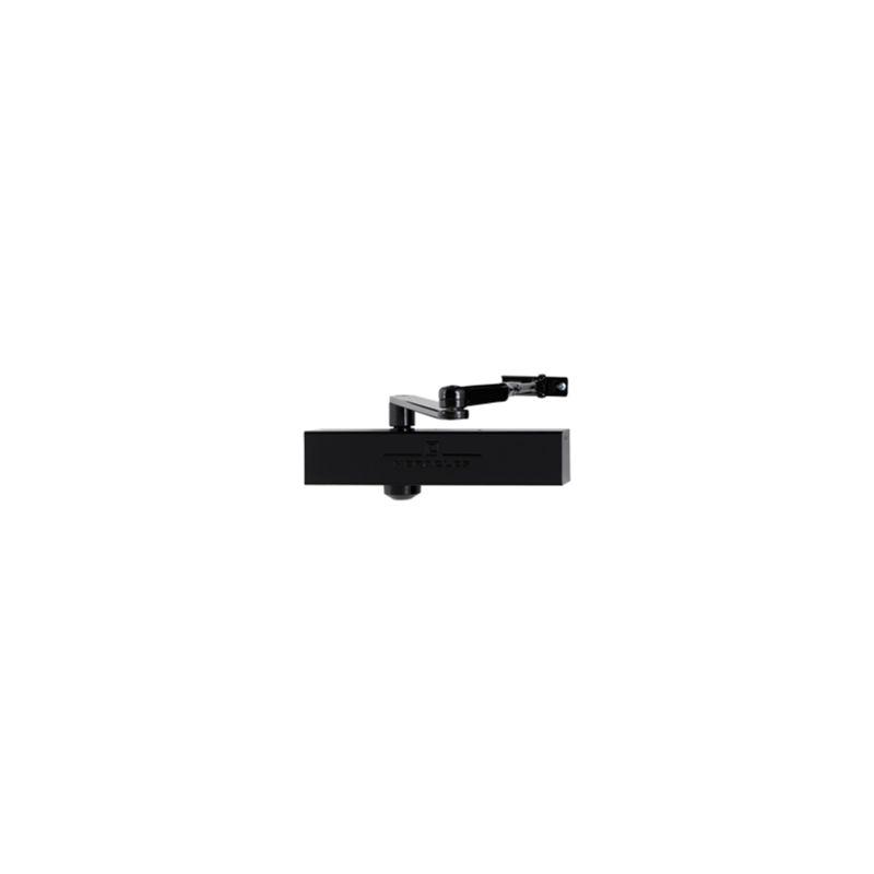 Heracles - ferme-porte HR150 Bras à compas Noir AF395815 - Noir