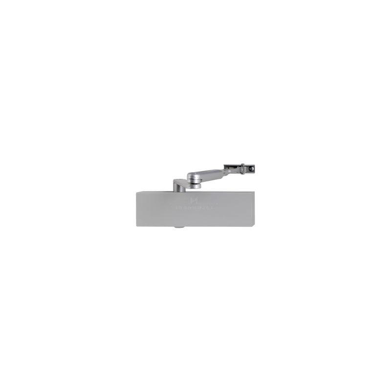 HERACLES Ferme-porte HR200 avec bras à compas - Argent