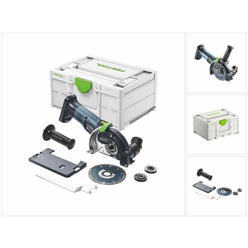 Festool DSC-AGC 18-125 FH EB-Basic Système de tronçonnage sans fil à