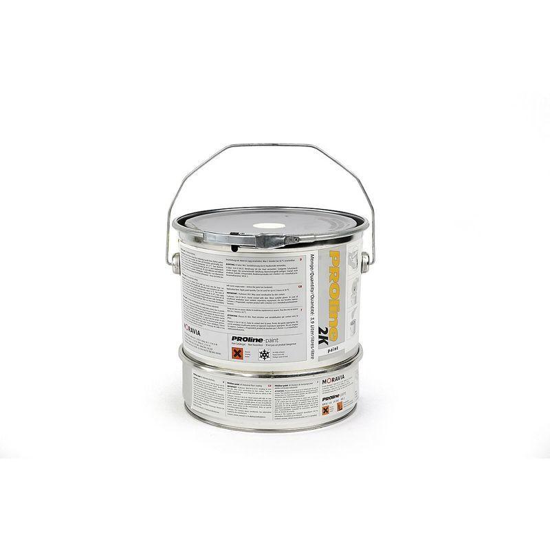 Certeo - Revêtement d'entrepôt 2K - bidon de 5 l - blanc - Coloris