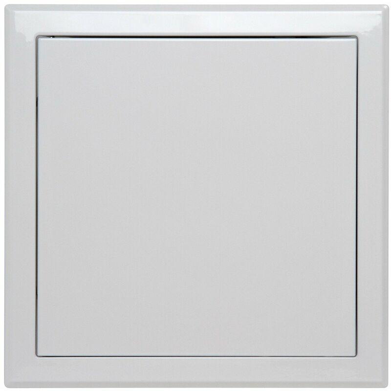 SEMIN Trappe de visite métallique laquée blanche 500 mm x 500 mm - ouverture