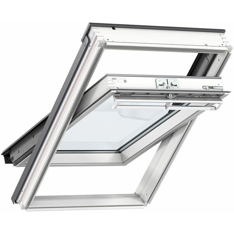 VELUX fenêtre de toit GGL SK08 2057 (114x140cm) bois, avec vitrage 57FR