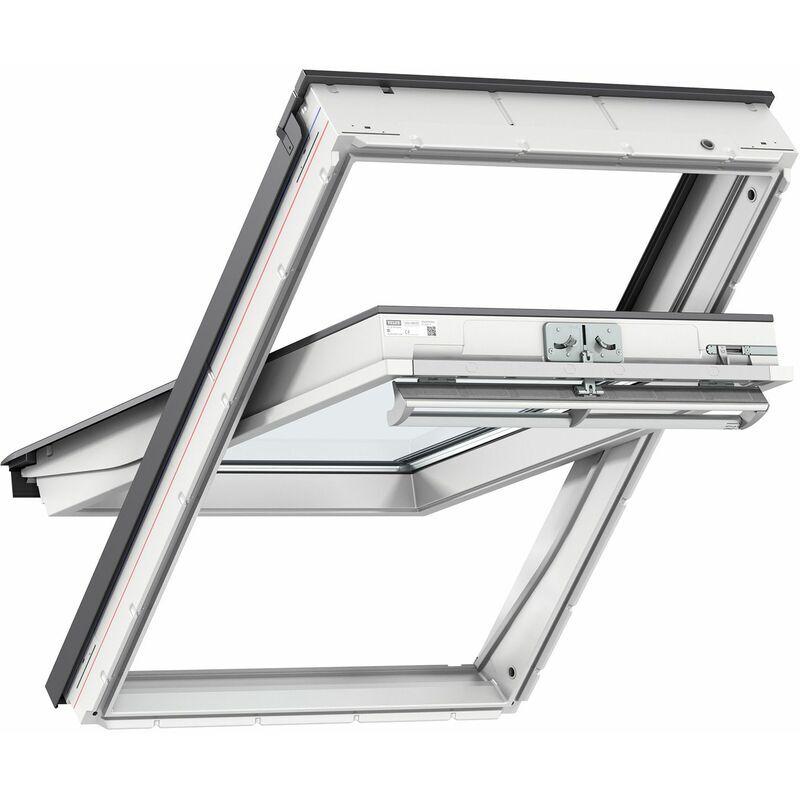 VELUX fenêtre de toit GGU CK02 0076 (55x78cm) PVC, avec vitrage 76F et