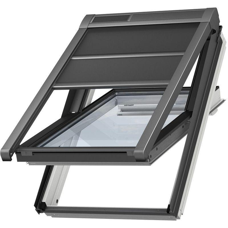 VELUX Volet roulant souple extérieur à énergie solaire original pour fenêtres